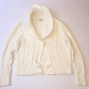 Cream Cardigan - X Large